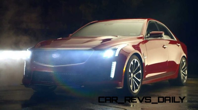 2016 Cadillac CTS Vseries Video Stills 79