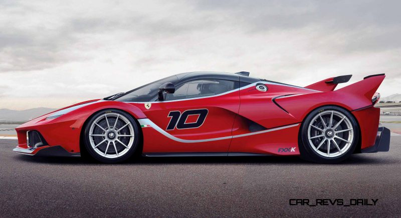 2016 Ferrari FXX K Revealed Ahead of Abu Dhabi Ferrari World Debut  2