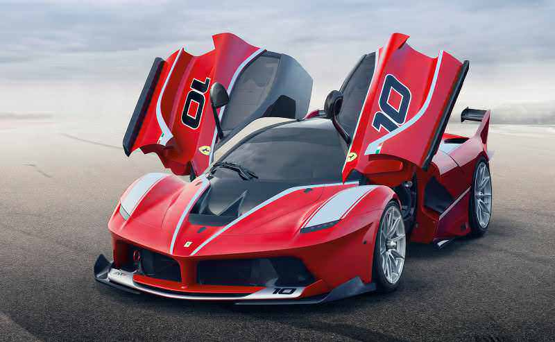 2016 Ferrari FXX K Revealed Ahead of Abu Dhabi Ferrari World Debut  4