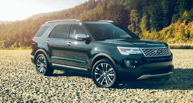 2016 Ford Explorer Colors Absolute Black