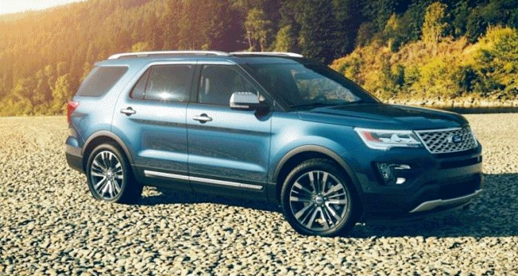 2016 ford explorer colors - blue jeans