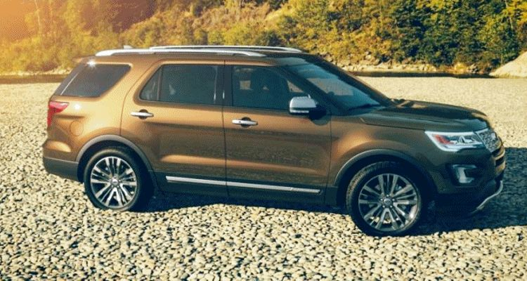2016 ford explorer colors - caribou