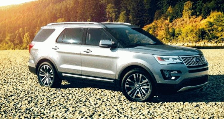 2016 ford explorer colors - ingot silver