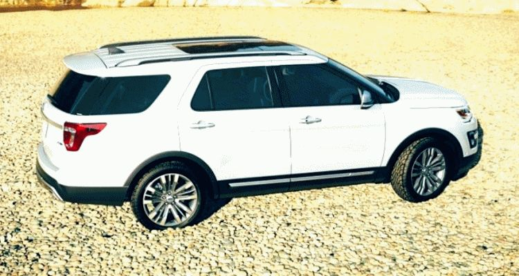 2016 ford explorer colors - oxford white