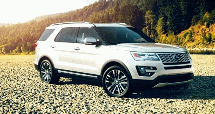 2016 ford explorer colors - white platinum metallic