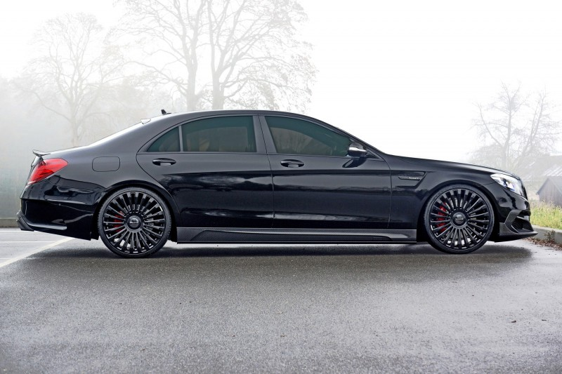 3.1s, 1000HP Mercedes-AMG S63 Is Latest MANSORY Monster 21