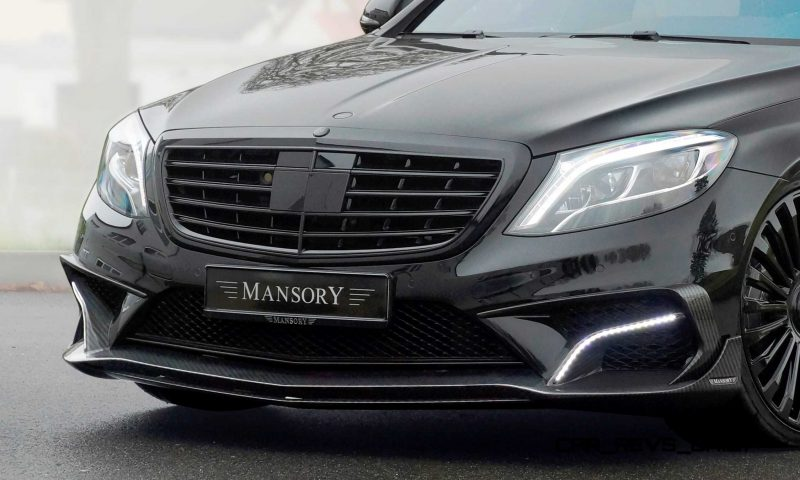3.1s, 1000HP Mercedes-AMG S63 Is Latest MANSORY Monster 8