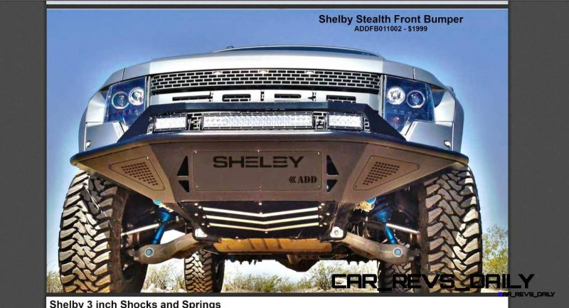 575HP SHELBY RAPTOR - Animated Colors and Options Guide 10