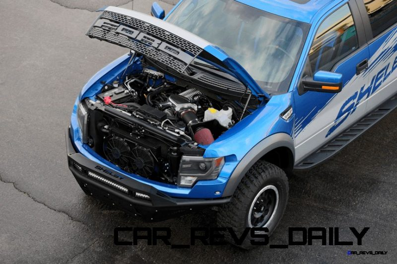 575HP SHELBY RAPTOR - Animated Colors and Options Guide 2