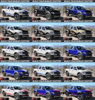 575HP SHELBY RAPTOR - Animated Colors and Options Guide 31-tile