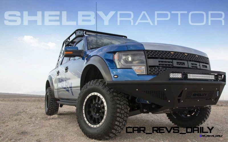 575HP SHELBY RAPTOR - Animated Colors and Options Guide 39