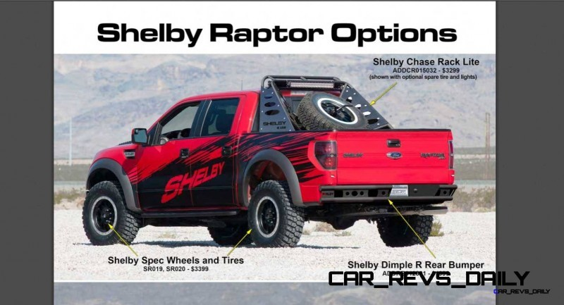 575HP SHELBY RAPTOR - Animated Colors and Options Guide 5