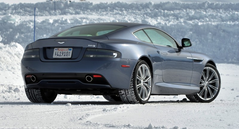 Aston Martin DB9 On Ice 002