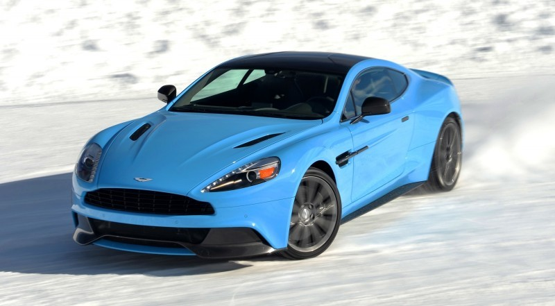 Aston Martin Vanquish On Ice 002
