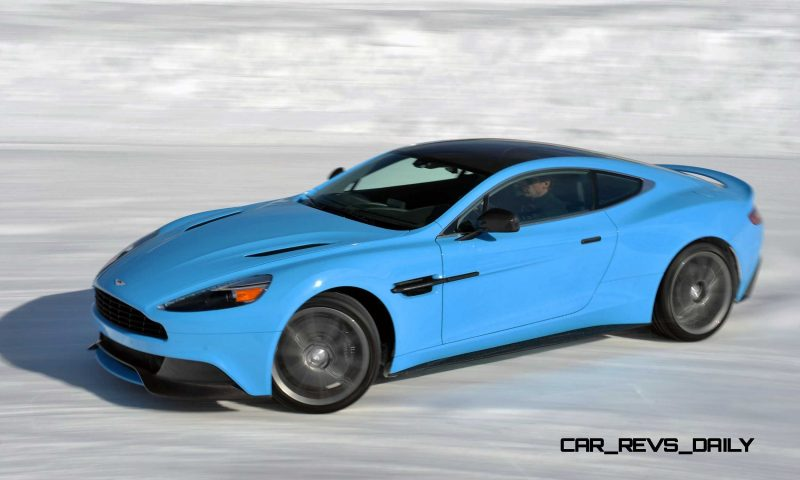 Aston Martin Vanquish On Ice 003