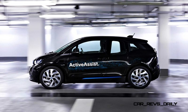 BMW i3 Brings Driverless Valet Parking to CES 2015 4