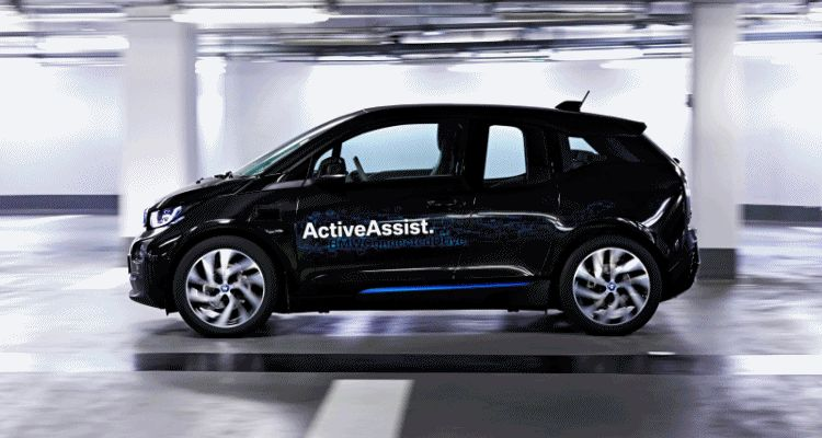 BMW i3 Brings Driverless Valet Parking to CES 2015