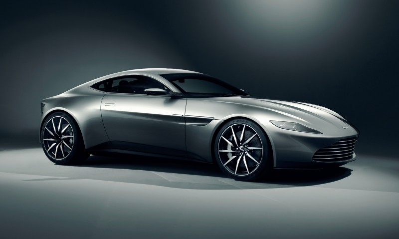 Built for Bond - Aston Martin debuts unique car for Spectre -61017