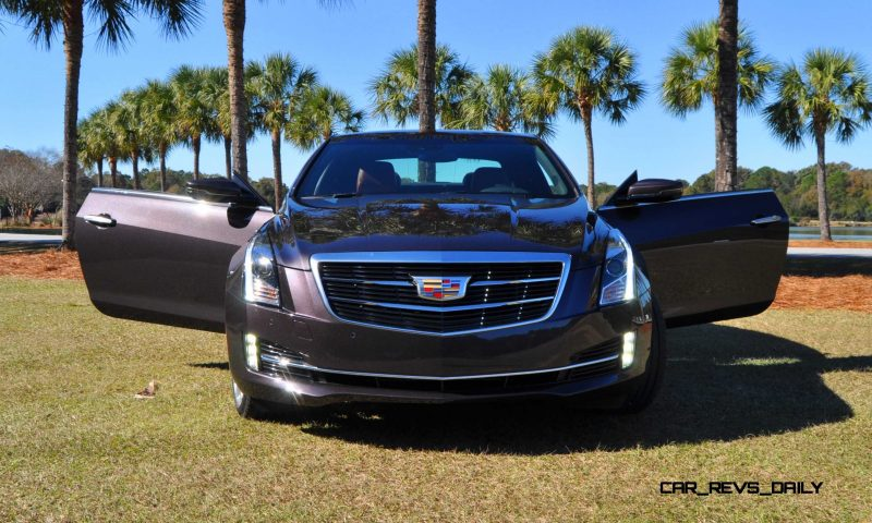 Cadillac ATS Black Pack 8