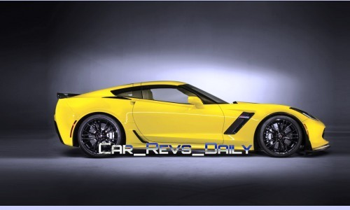 Chevrolet Corvette Z06 Sedan Draft Layers 1