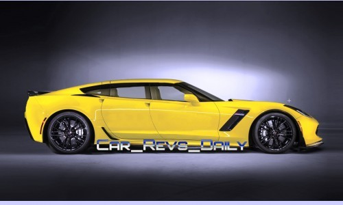Chevrolet Corvette Z06 Sedan Draft Layers 10