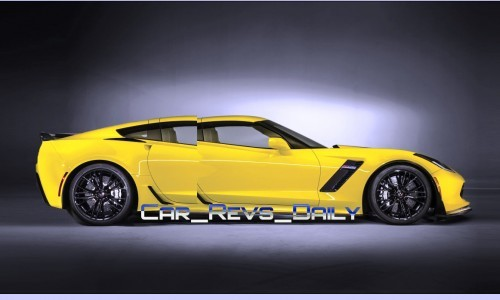 Chevrolet Corvette Z06 Sedan Draft Layers 2