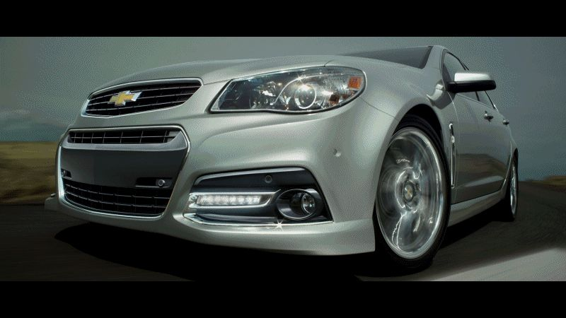 Chevy SS Exterior Animation999999