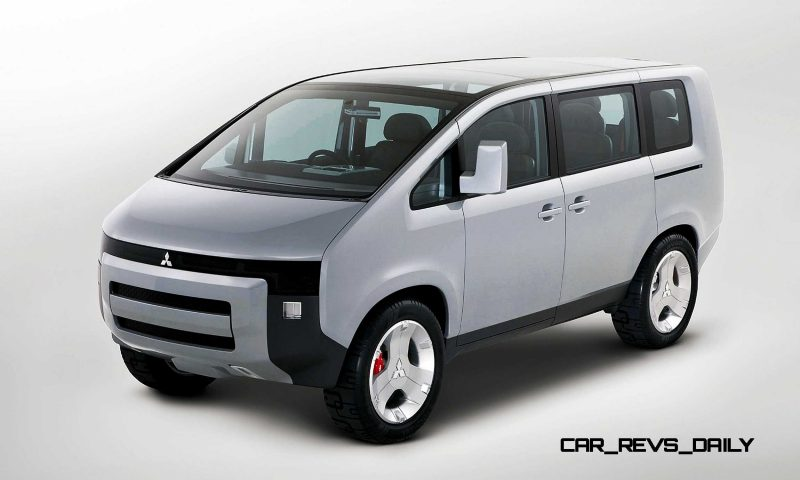 Concept Debrief - 2006 Mitsubishi D5 Was Future-Style Cool Van 11