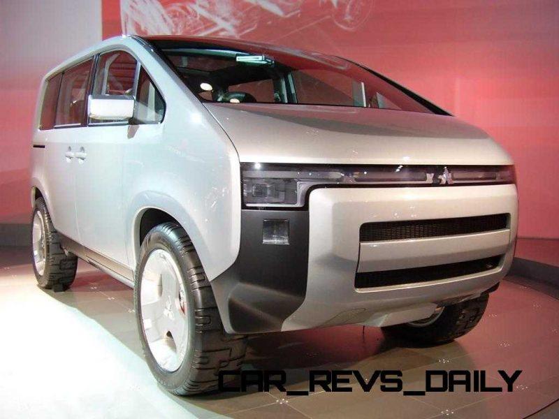 Concept Debrief - 2006 Mitsubishi D5 Was Future-Style Cool Van 12