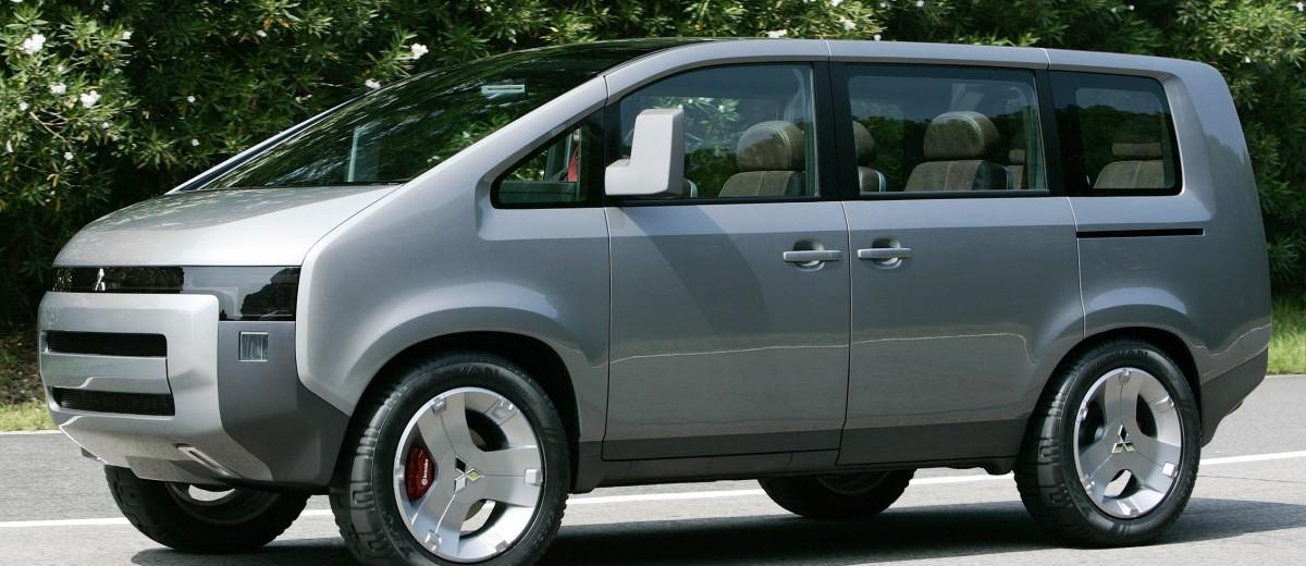 Concept Debrief - 2006 Mitsubishi D5 Was Future-Style Cool Van 2