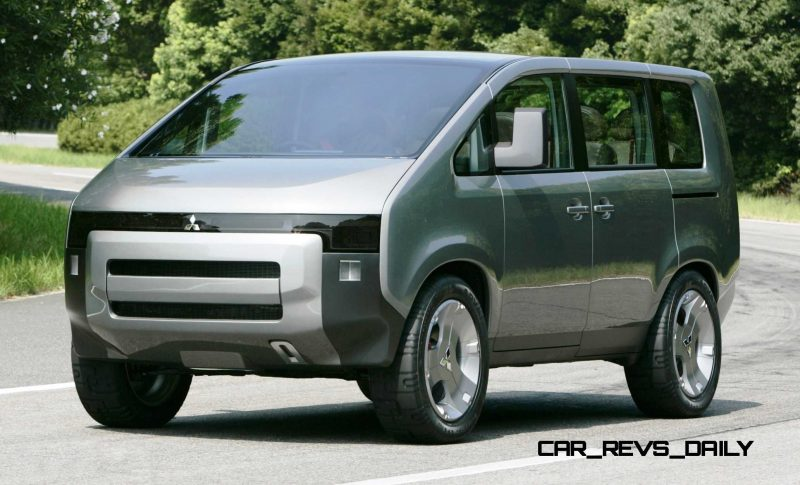 Concept Debrief - 2006 Mitsubishi D5 Was Future-Style Cool Van 3