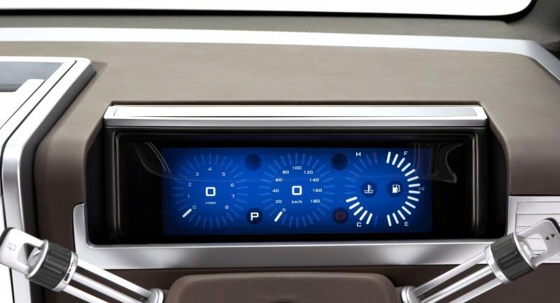Concept Debrief - 2006 Mitsubishi D5 Was Future-Style Cool Van 5