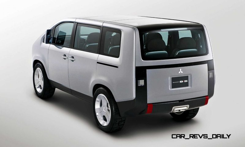 Concept Debrief - 2006 Mitsubishi D5 Was Future-Style Cool Van 6