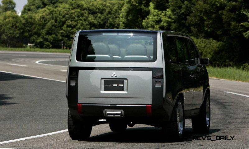 Concept Debrief - 2006 Mitsubishi D5 Was Future-Style Cool Van 8