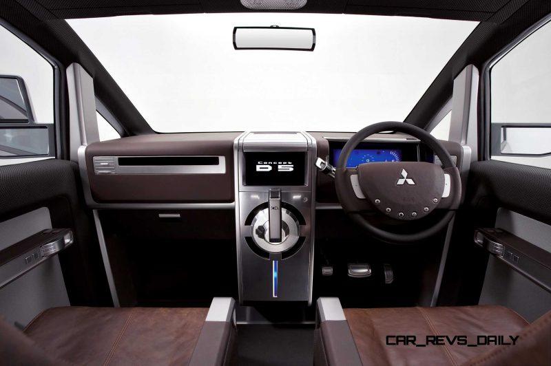 Concept Debrief - 2006 Mitsubishi D5 Was Future-Style Cool Van 9