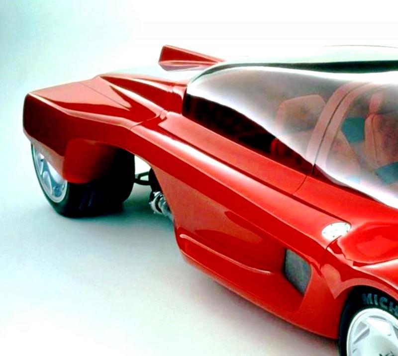 Concept Flashback - 1986 Peugeot PROXIMA 10