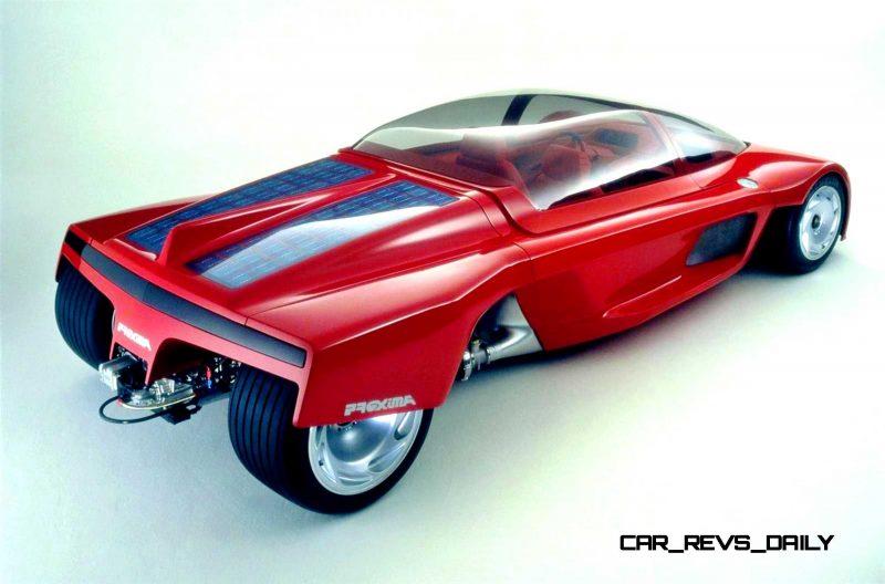Concept Flashback - 1986 Peugeot PROXIMA 11