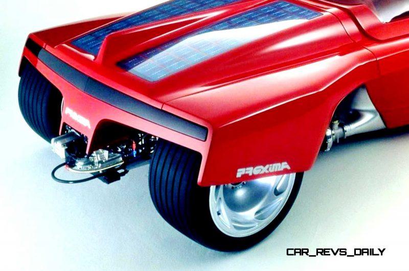 Concept Flashback - 1986 Peugeot PROXIMA 12