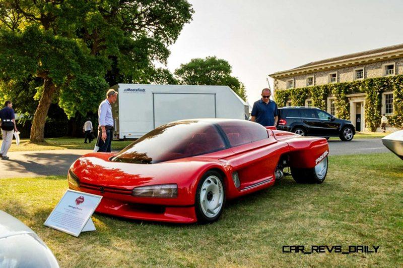 Concept Flashback - 1986 Peugeot PROXIMA 16