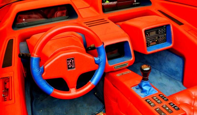 Concept Flashback - 1986 Peugeot PROXIMA 17