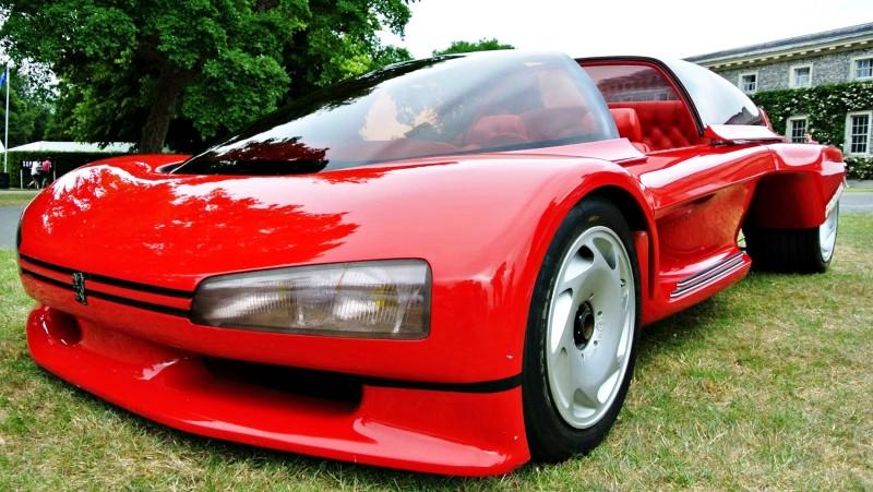 Concept Flashback - 1986 Peugeot PROXIMA 18