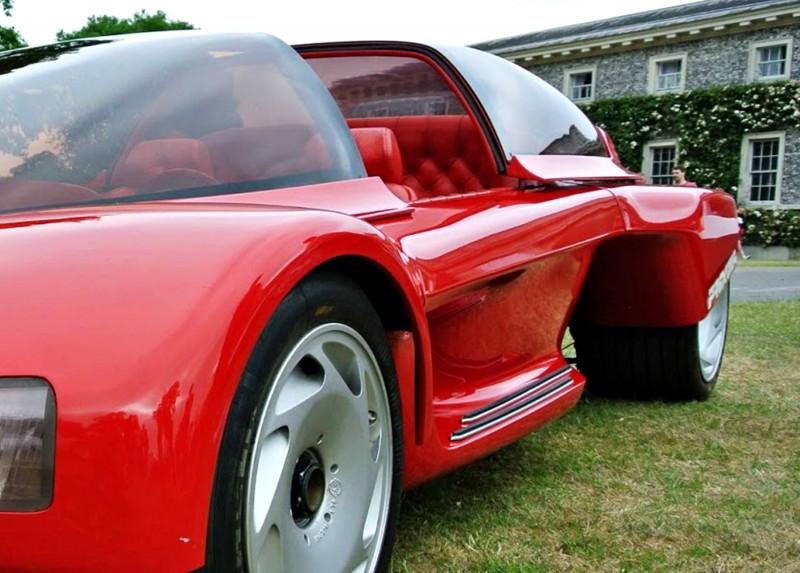Concept Flashback - 1986 Peugeot PROXIMA 19