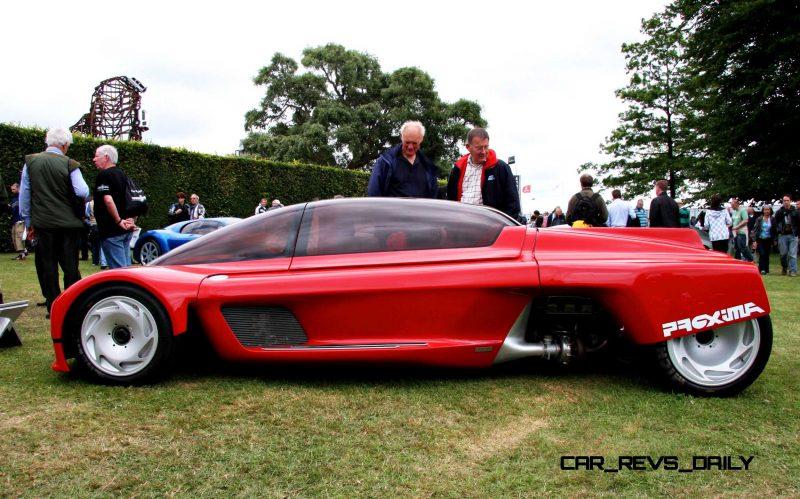 Concept Flashback - 1986 Peugeot PROXIMA 2