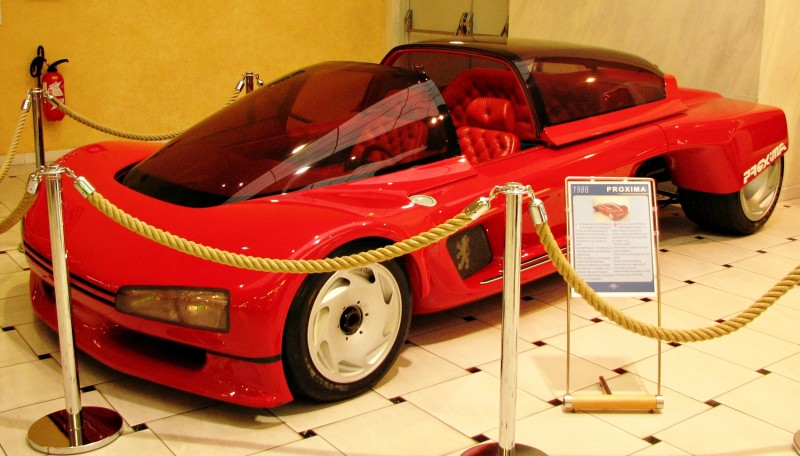 Concept Flashback - 1986 Peugeot PROXIMA 20
