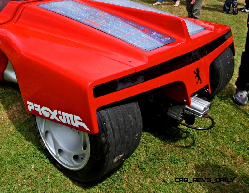 Concept Flashback - 1986 Peugeot PROXIMA 3
