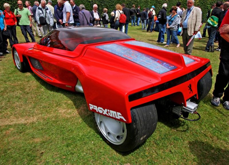 Concept Flashback - 1986 Peugeot PROXIMA 4