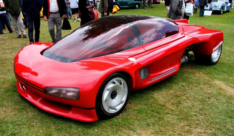 Concept Flashback - 1986 Peugeot PROXIMA 6