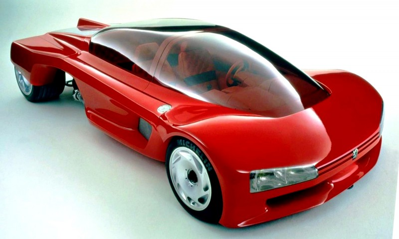 Concept Flashback - 1986 Peugeot PROXIMA 9