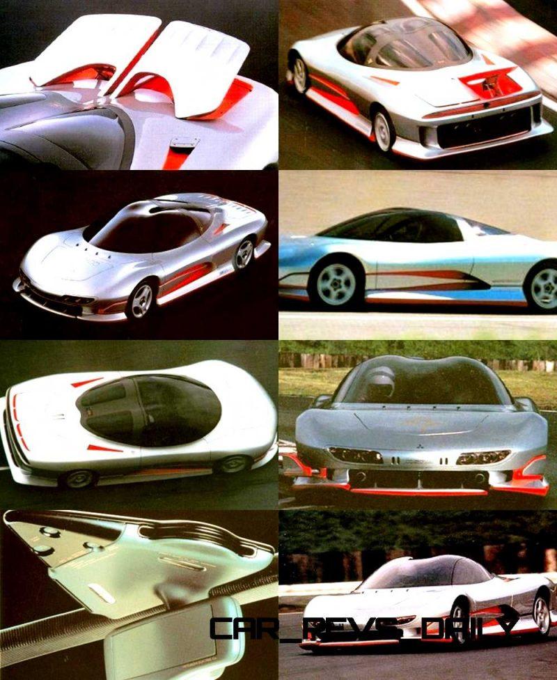 Concept Flashback - 1989 Mitsubishi HSR II 1