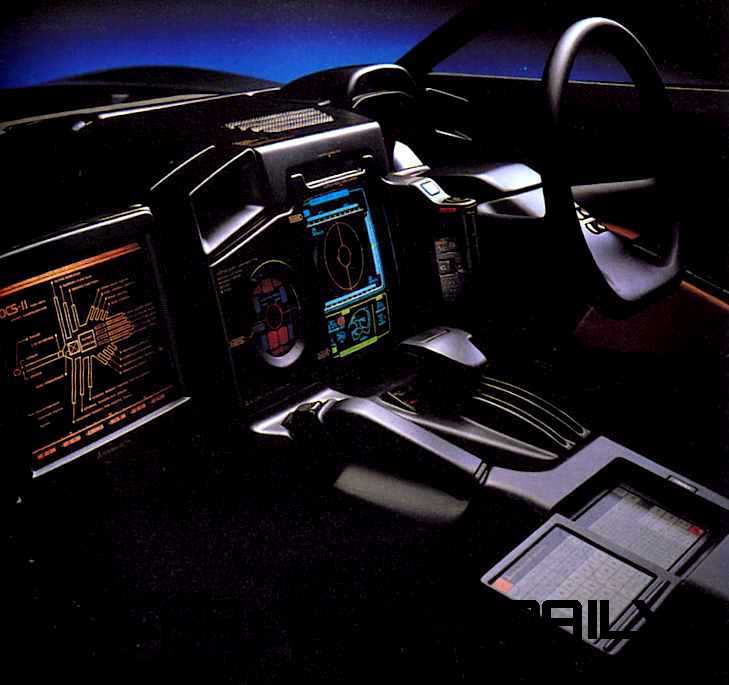 Concept Flashback - 1989 Mitsubishi HSR II 10